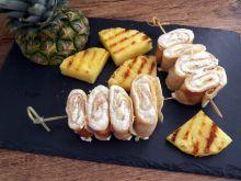Naleśniki z grillowanym ananasem