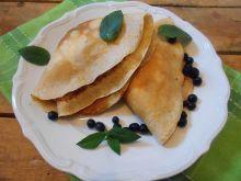 Naleśniki z jagodami i mascarpone