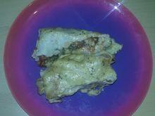 Naleśniki z kurczakiem i pieczarkami