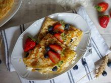 Naleśniki z ricottą i owocami