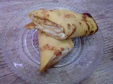 Naleśniki z różano - waniliowym serem