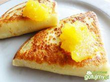 Naleśniki z serem i dżemem z cukinii