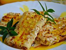 Naleśniki z serem i kremem pomarańczowym