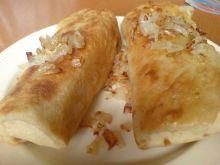 Naleśniki z serem i ziemniakami.