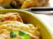 Naleśniki z serem, rozmarynem i kurczakiem