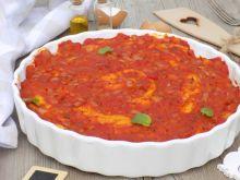Naleśniki zapiekane z tuńczykiem i sosem