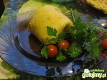 Naleśnikowy niby kebab z radicchio