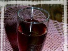 Nalewka z czarnej porzeczki z nutą wani