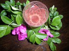 Nalewka z płatków dzikiej róży
