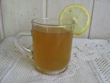 Napój cytrynowo-miętowy z miodem