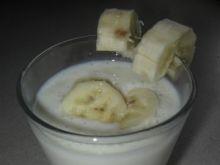 Napój mleczno-bananowy