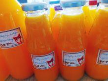 Napój z dyni i pomarańczy