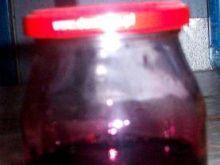 Naturalny sok z jagód.