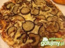Niby pizza z bakłażanem