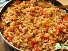 Niby-risotto mięsno-warzywne