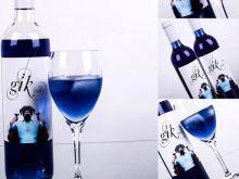 Gik, niebieskie wino