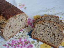Niemiecki chleb lniany na zakwasie