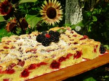 Niezastąpione ciasto -10 łyżek z leśnymi owocami