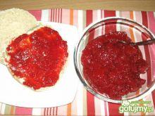Niskosłodzony dżem z truskawek