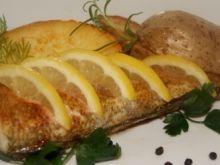 Nototenia i ziemniaki z ziołami