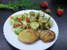 Nowe ziemniaczki z koperkiem i zieloną cebulką
