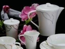 Nowoczesna kolekcja porcelany