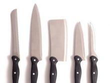 Noże - wskazówki bezpieczeństwa