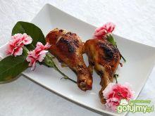 Nóżki kurczaka faszerowane szpinakiem