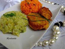 Nuggetsy z jaśminowo - szafranowym ryżem