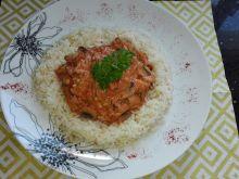 Obiad nr 3 Mięso z pieczarkami-dieta 1200 kalorii