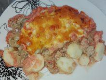 Obiad nr 4 Zapiekanka z mięsem Dieta 1200 kalorii