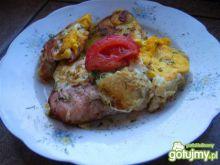 Obiad w 15 min-ziemniaki z jajkiem i szy