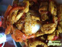 Obiad w 30 minut kurczak sweet chili ryz
