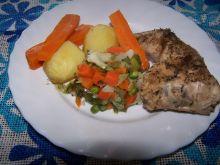 Obiadek dietetyczny na parze
