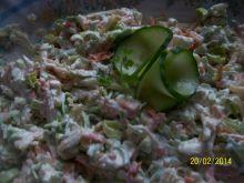 Obiadowa sałatka z pora