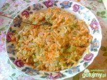 Obiadowa surówka z kapusty