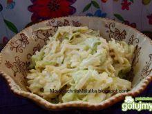 Obiadowa surówka z kapusty i pora