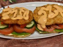 Obiadowy hamburger