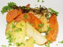 Obsmażane ziemniaki i batat