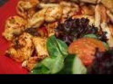 Odchudzone danie z piersi z kurczaka