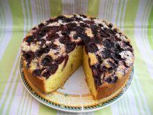 Odwrócone ciasto z czereśniami