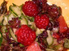 Ogórek z owocami
