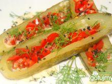Ogórki duszone w sosie wg Buni