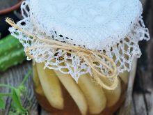 Ogórki konserwowe z musztardą
