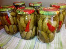 Ogórki konserwowe z papryczka chili