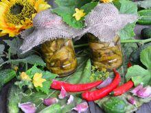 Ogórki miodowe z chilli
