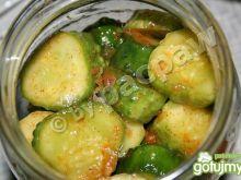 Ogórki w słodkiej zalewie chili