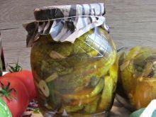 Ogórki z chili - przetwory na zimę