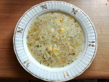Zupa ogórkowa z marchewką