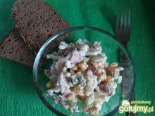 Ogórkowo-koperkowa sałatka makaronowa